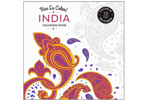Vive Le Color! India Coloring Book