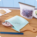 Reusable Silicone Zipper Bags