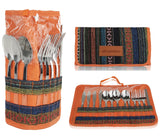 Picnic Utensil Set with Travel Case