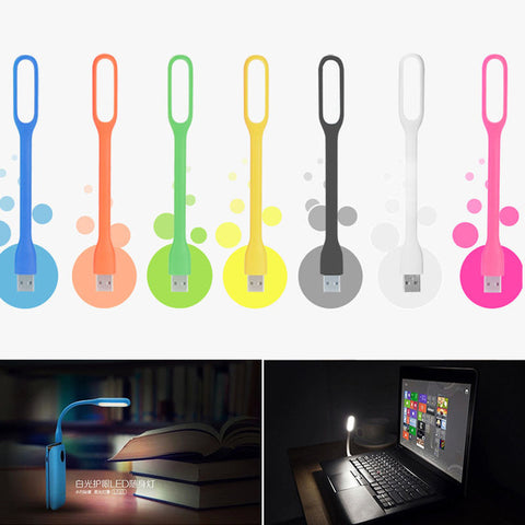 Flexible USB Power Bank/Book Light