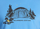 Recharging Station Camping Tee