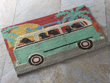 Vanlife Dogs Beach Trip Mat