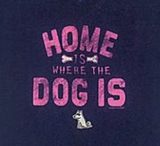 Home Is Where the Dog Is V-Neck Tee