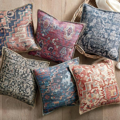 Antique Rug Motif Pillows