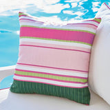 Pink & Green Outdoor Pillows