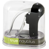 Nautilus Easy Lever Corkscrew Gift Set In Black by True - ONLINE CELLAR DOOR