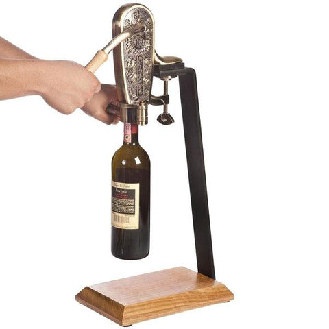 Le Grape Uncorking Machine and Table Stand - ONLINE CELLAR DOOR