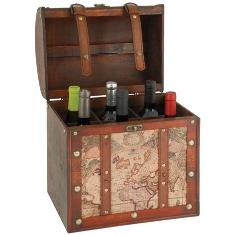 Chateau: 6 Bottle Old World Wine Box - ONLINE CELLAR DOOR