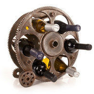 Gears And Wheels Wine Rack by Foster and Rye - ONLINE CELLAR DOOR