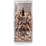 Keep Calm Cork Container by True - ONLINE CELLAR DOOR