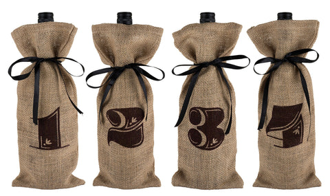 Marketplace - Jute Bag Wine Tasting Kit by Twine - ONLINE CELLAR DOOR