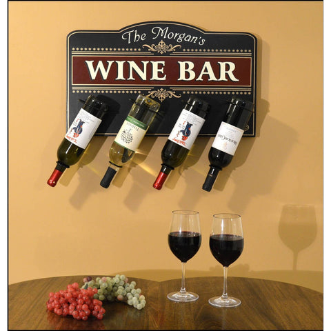 4 Hanging Bottle Signs - Classic Wine Bar - ONLINE CELLAR DOOR