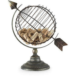 World Globe Cork Holder - Online Cellar Door