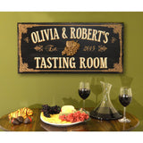 Vintage Plank Signs - Tasting Room - ONLINE CELLAR DOOR