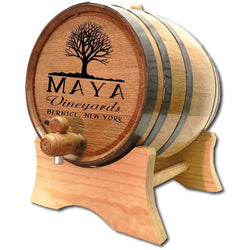 Custom Barrel - Maya Vineyards - ONLINE CELLAR DOOR