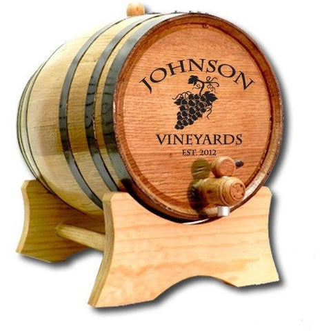 Custom Barrel - Wine Grapes - ONLINE CELLAR DOOR