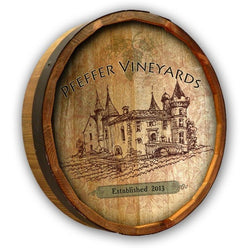 Color Quarter Barrel - Vintage Vineyard - ONLINE CELLAR DOOR