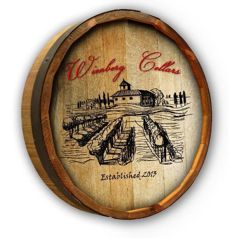 Color Quarter Barrel - Wienberg Cellars - ONLINE CELLAR DOOR