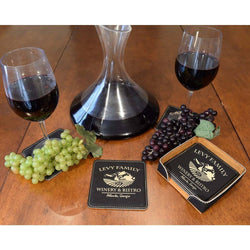 Chateau 2 Personalized Coasters - ONLINE CELLAR DOOR