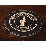 Wine Medallion Personalized Coasters - ONLINE CELLAR DOOR