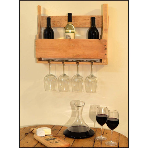 Hanging Pallet Bar (18 inch) - ONLINE CELLAR DOOR
