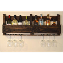 Hanging Pallet Bar (40 inch) - ONLINE CELLAR DOOR