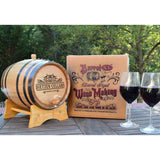 Personalized Barrel XL™ Barrel Aged Cabernet Wine Making Kit - ONLINE CELLAR DOOR