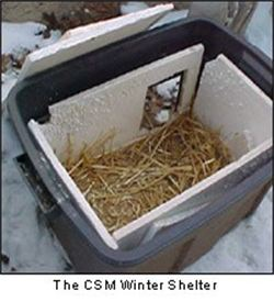 Out Door Cat Shelters for Winter