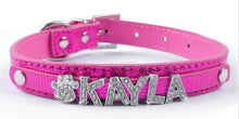 Personalized Dog Collars -Rhinestone Charms