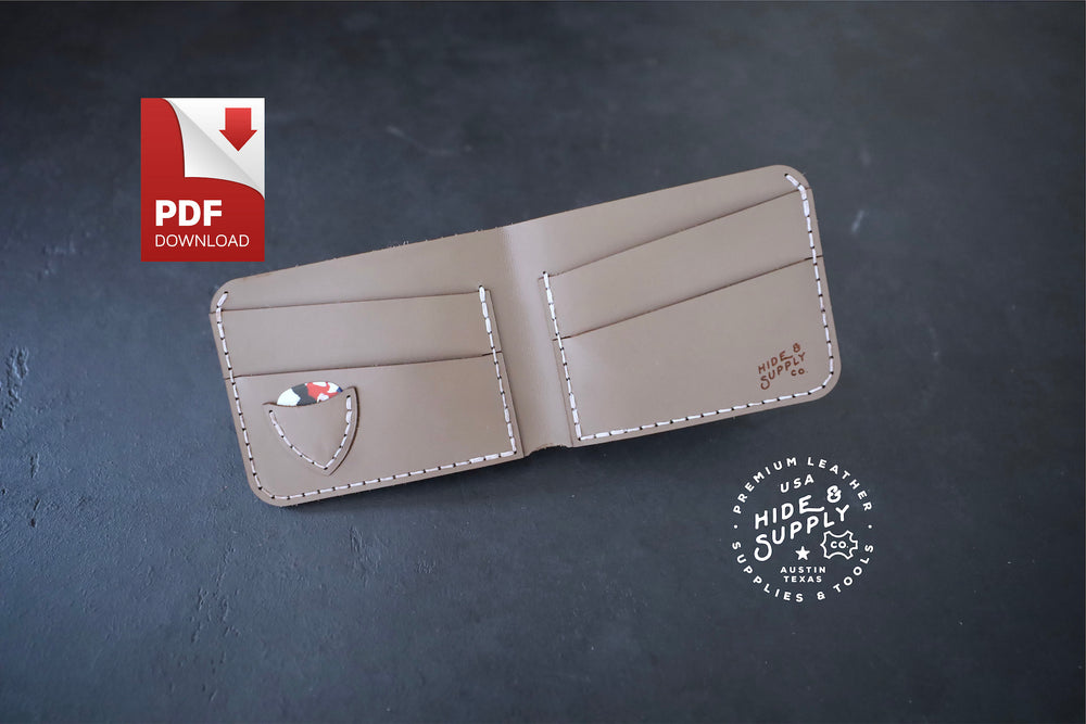 Slim Bifold Guitar Pick Wallet