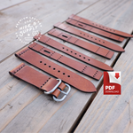 Watch Strap Band Template (18mm-24mm)