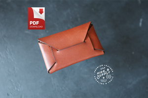 Stitchless Envelope Wallet