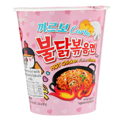 Samyang Hot Chicken Carbonara Cup 80g