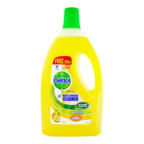 Dettol Multi purpose Cleaner 4IN1 CITRUS 1.5L+33%