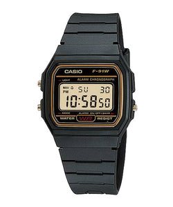 CASIO STANDARD F-91WG-9S Digital Watch | Classic Since 1991 Calendar