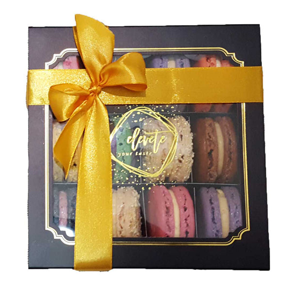 [1 Day Pre-Order] Assorted Box of 12 Macarons