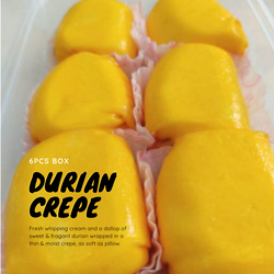 Pillow Durian Crepe (6 pcs)