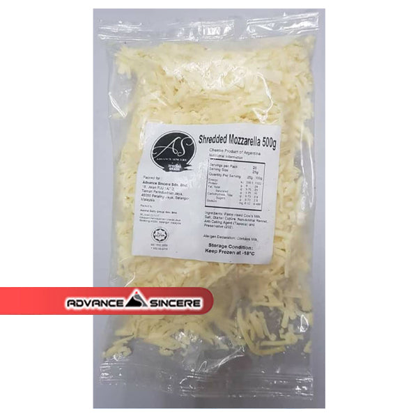 Mozzarella Shredded (Argentina) - 500gm
