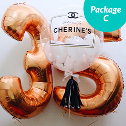 [2 Day Pre-Order] Balloon Package C
