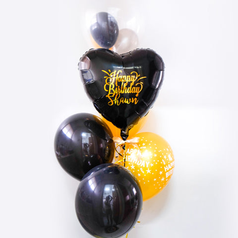 [2 Day Pre-Order] Personalised Balloon Bouquet