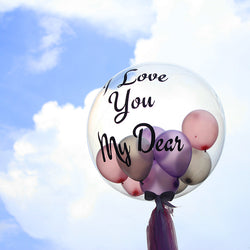 Customise Bubble Balloon (22 Inch)