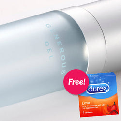 SMILE MAKERS Generous Gel 30ml + FREE Durex condoms 3S