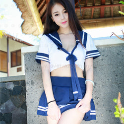30041 Hot School Girl Cosplay Uniform