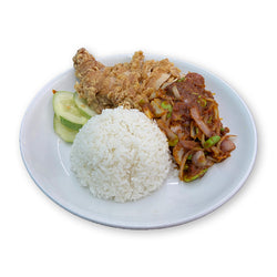 Sambal Petai Chicken Chop Rice