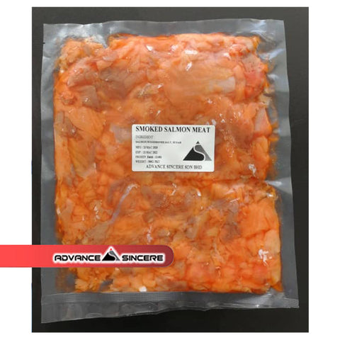 Smoked Salmon Meat - 500gm