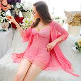 187091 Charming Babydoll + G String (Including Pink Gown)