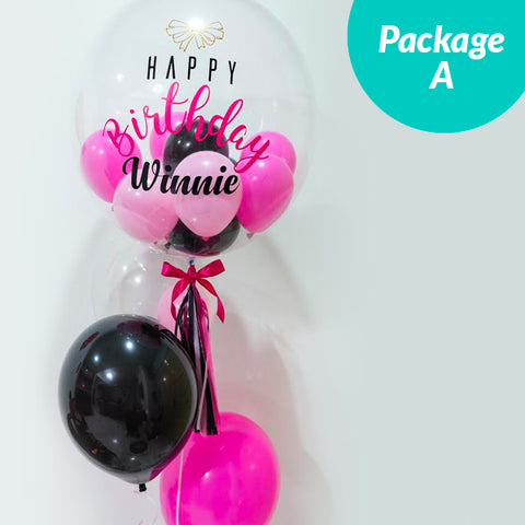 [2 Day Pre-Order] Balloon Package A