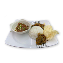 Beef Rendang Rice with Vege