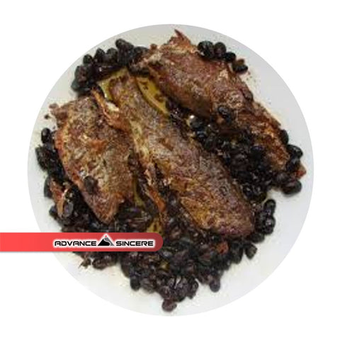 Fried Dace w Salted Black Bean (184gm/can)