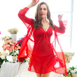 18705 Charming Babydoll + G String (Including Red Gown)